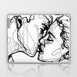 line kiss Laptop & iPad Skin