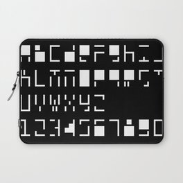 Alphanumerique Laptop Sleeve