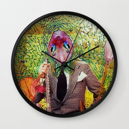 fishhead Wall Clock