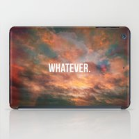 meme iPad Cases featuring Inspirational Photo Quote Meme by Lewis Wake