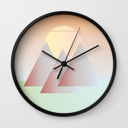 Easy Like A Sunday Morning Wall Clock