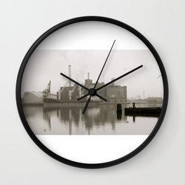 baltimore harbor Wall Clock