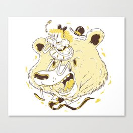 Goldilocks - Brave Tales Canvas Print