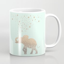 ELEPHANT - GOLD MINT Coffee Mug