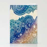 princess Stationery Cards featuring Mermaid Princess  by rskinner1122