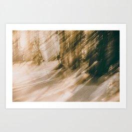 ICM Winter Light Art Print