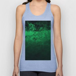 Green Spotted Unisex Tank Top