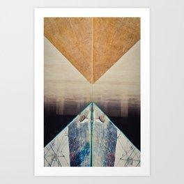 Diptych Art Print