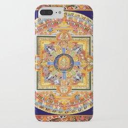 Buddhist Mandala 49 Green Tara iPhone Case