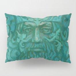 Green Man Pillow Sham