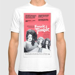 Vintage Female Trouble Movie Poster T-shirt