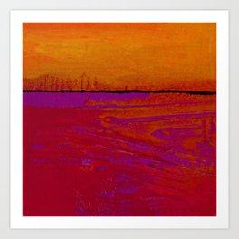 Square Abstract No. 8B by Kathy Morton Stanion Art Print