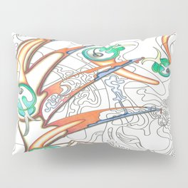 Embryonic Fly Trap Pillow Sham