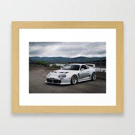 Toyota Supra TRD Framed Art Print