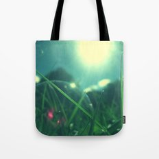 A Bubble's Perspective Tote Bag