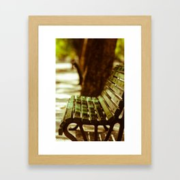 Bench Mark Framed Art Print
