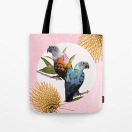Jolly Parrots Tote Bag