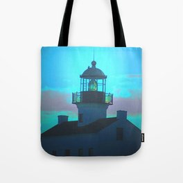 Point Loma Lighthouse (large) Tote Bag
