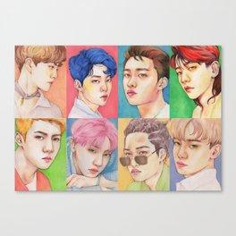 EXO KOKOBOP Canvas Print