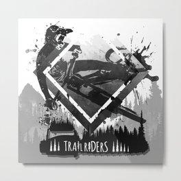 Trailriders Metal Print