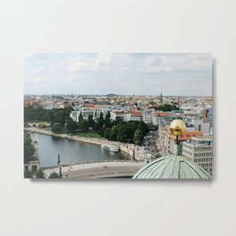 View from the Berlin Cathedral Metal Print