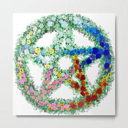 Elemental Flowers Metal Print
