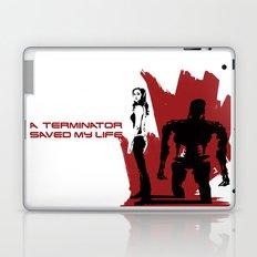 A Terminator Saved My Life Laptop & iPad Skin