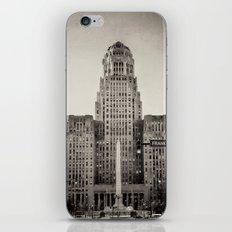 Down Town Buffalo NY city hall iPhone & iPod Skin