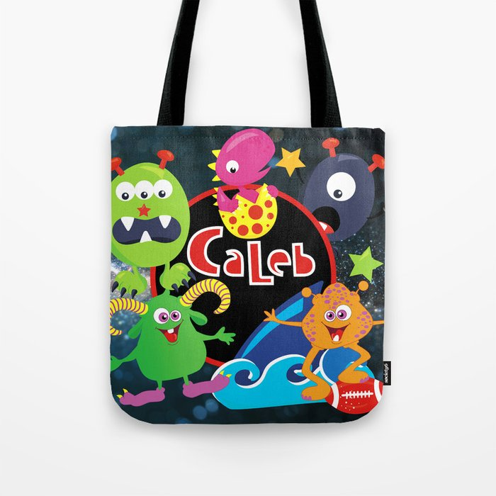 C-Monsta for Caleb Tote Bag