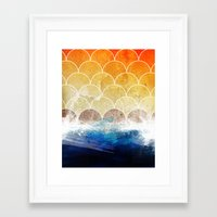 scales Framed Art Prints featuring Scales by Michael Scott Murphy