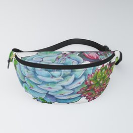 Sweet Succulents Fanny Pack
