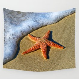 Starfish Wave Wall Tapestry