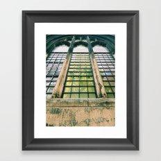 St Dunstan in the East Framed Art Print