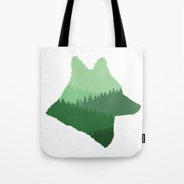 Wolf Mountains Tote Bag