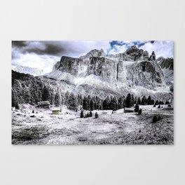 Dolomites Mountains South Tyrol Alpine Italy Canvas Print