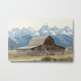 A Rocky Mountain Adventure - The Grand Tetons Metal Print