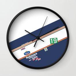 Freddie Spencer 1985 Rothmans Honda Wall Clock
