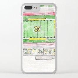 Saint Xavier High School Field, Tigers, Louisville, KY Clear iPhone Case