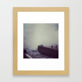 Wave Chasers Framed Art Print
