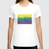 tennessee T-shirts featuring The Mountains of Tennessee by Kristin H. Rommel