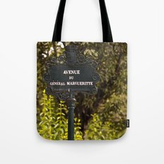 Paris Avenue Tote Bag