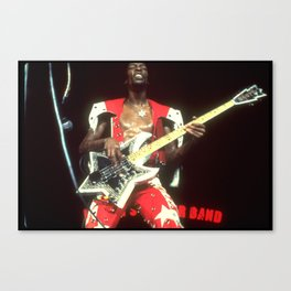Ah, the Name is Bootsy, baby Canvas Print
