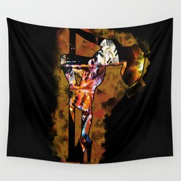 The Lap Dancer Wall Tapestry
