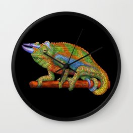 Jackson's Chameleon Wall Clock