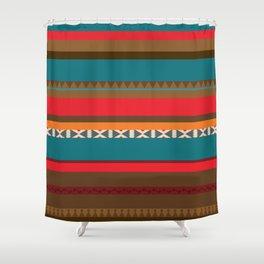 Incas' Culture Heritage Shower Curtain