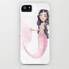 Starfish Mermaid 1 iPhone Case