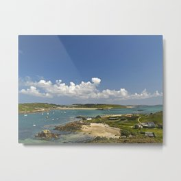 The Isles of Scilly Metal Print