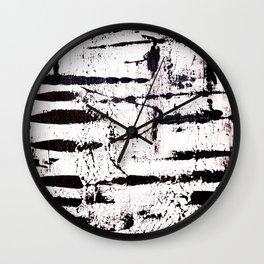 Zebra Abstract Wall Clock