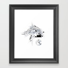 lucid dream Framed Art Print