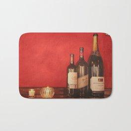 Wine on the Wall Bath Mat